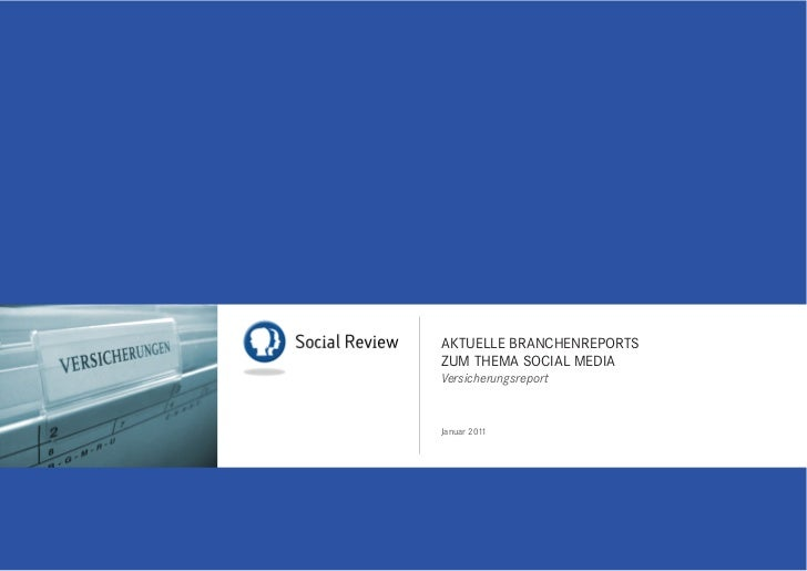 interactivelabs Social Review Versicherungen 1/2011