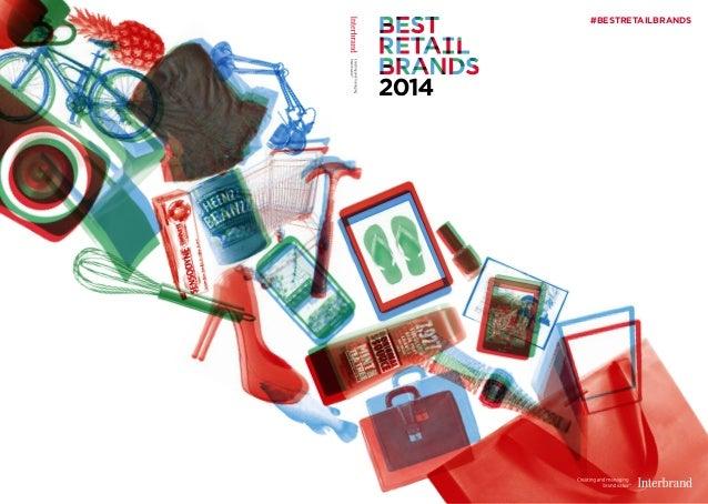 Best Retail Brands 2014 - Interbrand