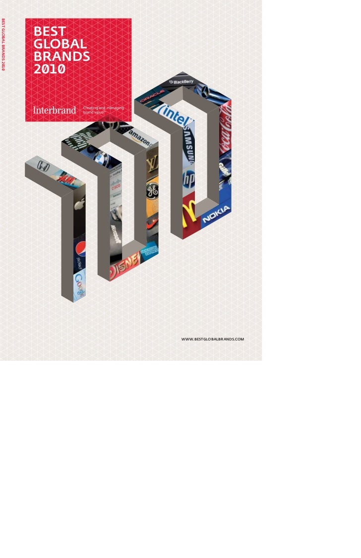 Interbrand   Best Global Brands Report 2010