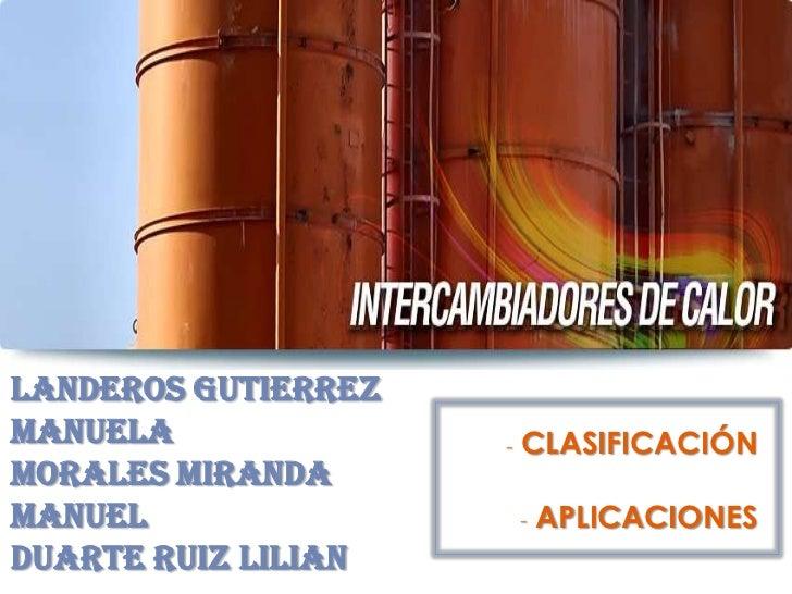 LANDEROS GUTIERREZMANUELA              -   CLASIFICACIÓNMORALES MIRANDAMANUEL                   -   APLICACIONESDUARTE RUI...