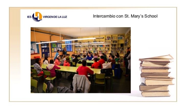 Intercambio con St. Mary's School