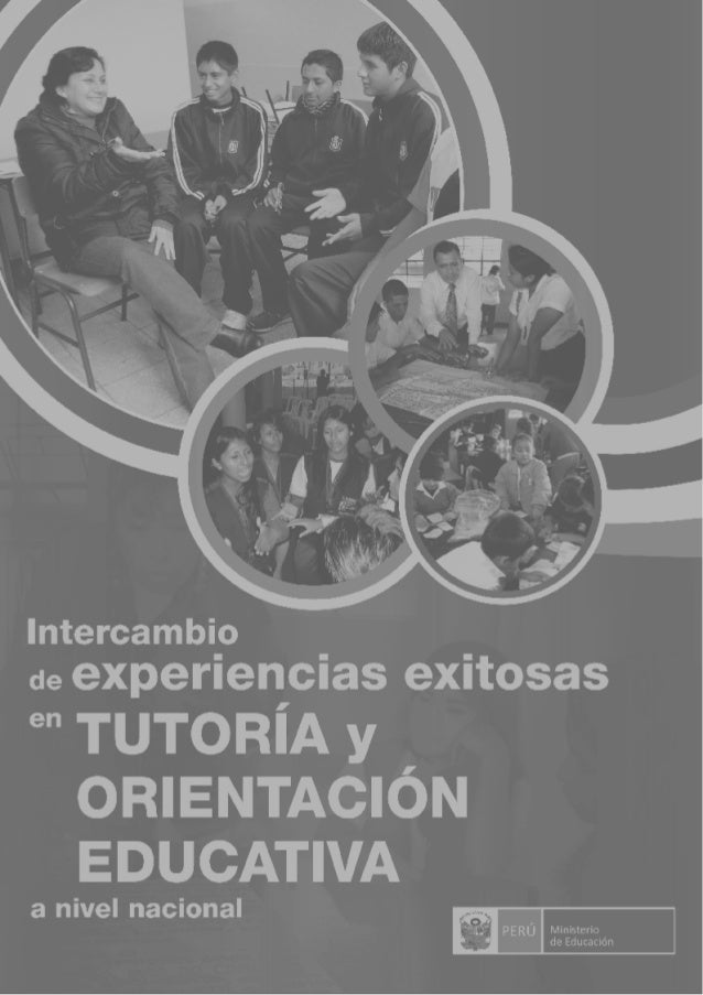 Intercambio de Experiencias Exitosas en Tutoría y Orientación Educativa  - San Borja  compilación  ,  MEJ Graf E.I.R.L Jr....