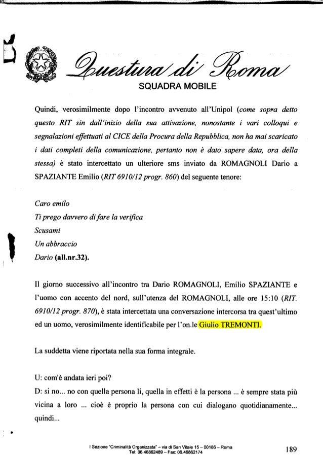 Intercettazione su Consob-Unipol