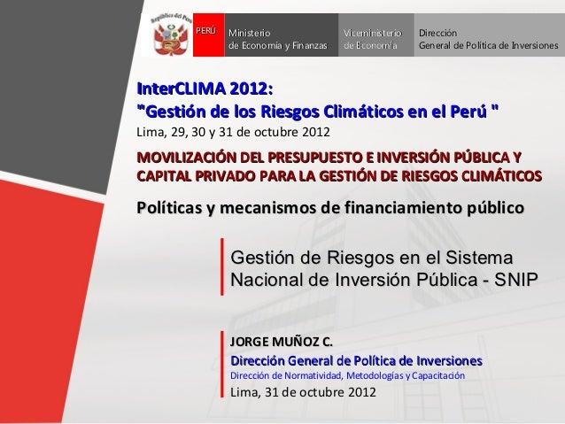 Inter clima 2012_mef_gdr_jorge_munoz