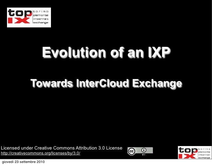 Inter cloud exchange v1 (2010 09-17)
