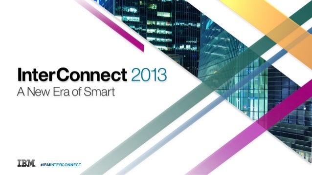 IBM InterConnect 2013 Mobile Keynote: Marie Wieck