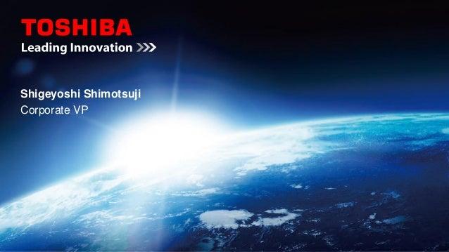 IBM InterConnect 2013 Cloud General Session: Shigeyoshi Shimotsuji - Toshiba Corporation