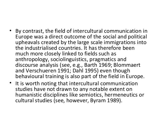 essay about intercultural communication