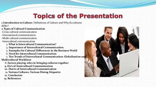 Presentation on presentation