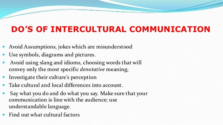 reflection paper about intercultural communication Intercultural and cross-cultural communication research: some reflections about culture and qualitative methods.