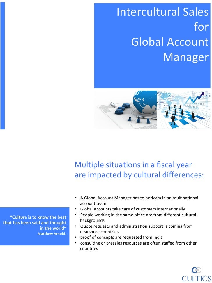 Intercultural competence for global account teams