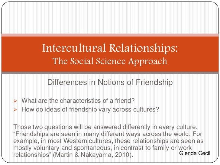 Intercultural relationships- GC