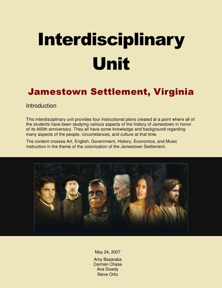 Interdiciplinary Unit