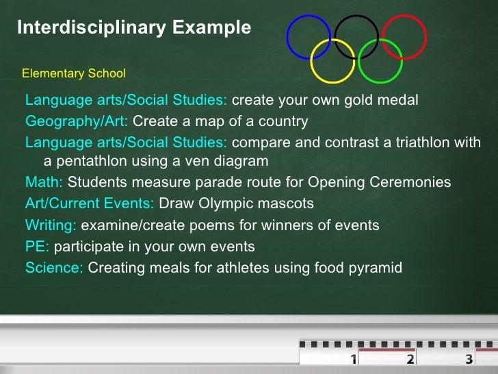Teaching Collaborative Writing ~ Interdisciplinary units