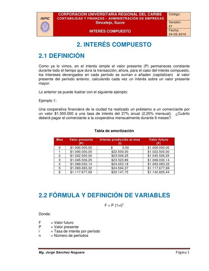 Interes compuesto iafic_2010