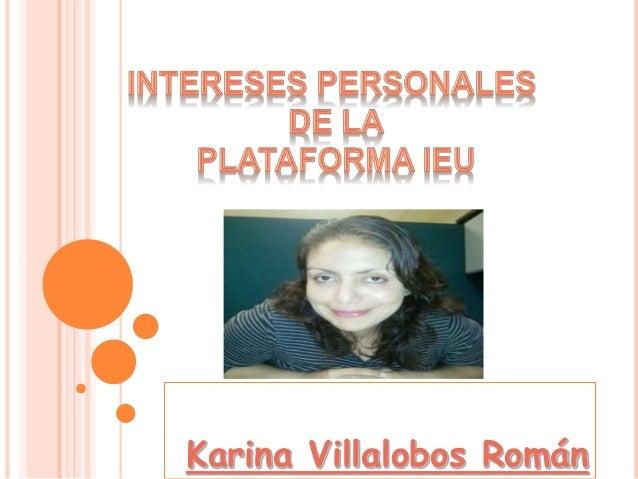 Karina Villalobos Román