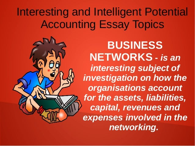 Accounting controversial research topics