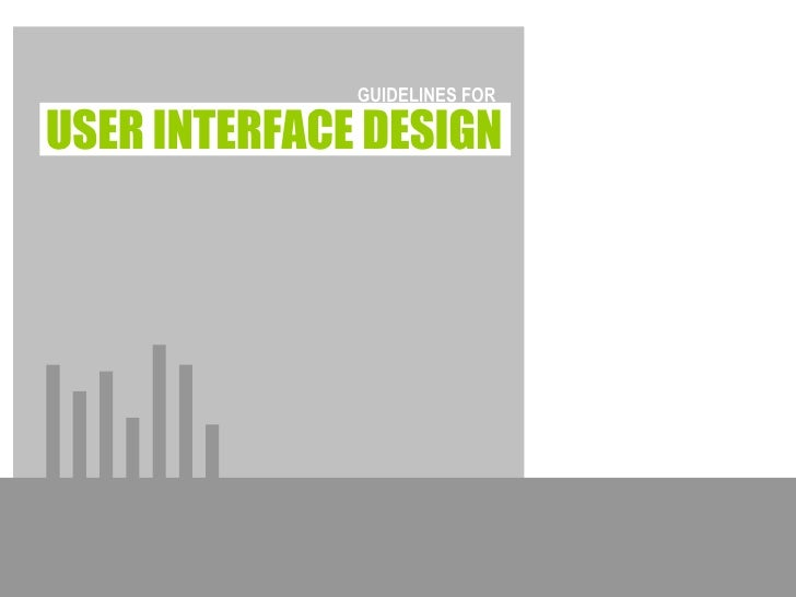 Week2: Interface Design Guidelines - Zachary White