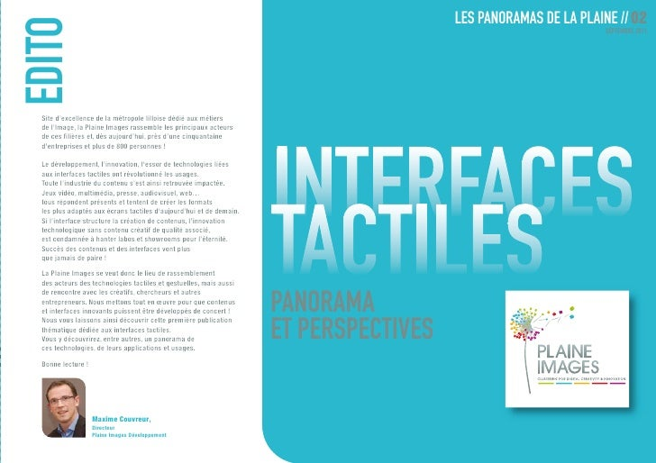 Interfaces tactiles