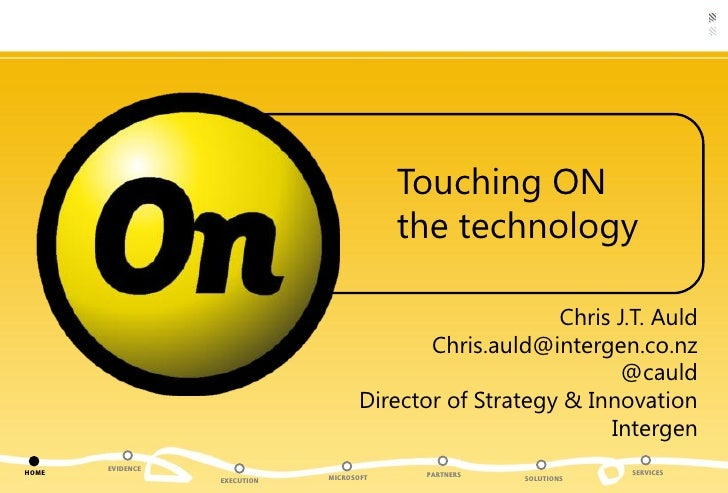 Business and Online Services - Chris Auld