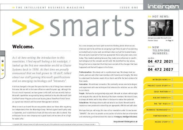 Intergen Smarts 1 (2001)