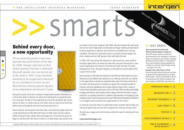 Intergen Smarts 18 (2008)