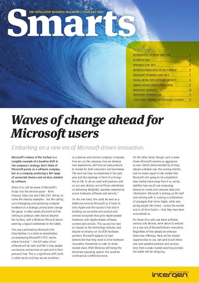 Intergen Smarts 30 Australia (2012)
