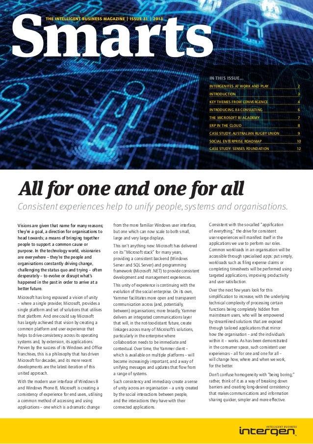 Intergen Smarts 31 New Zealand (2013)