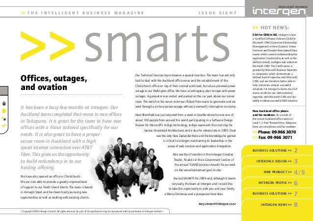 Intergen Smarts 8 (2004)