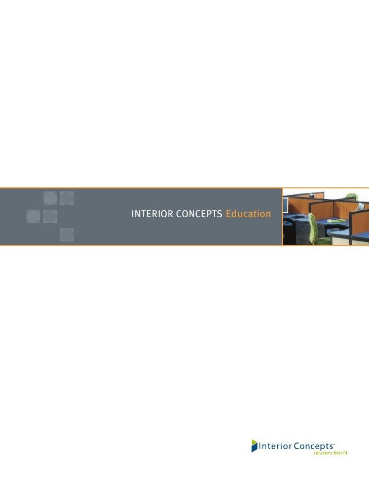 INTERIOR CONCEPTS Education