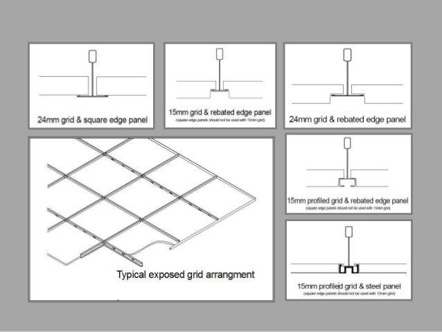 False Ceiling Plan Elevation Section : False ceiling