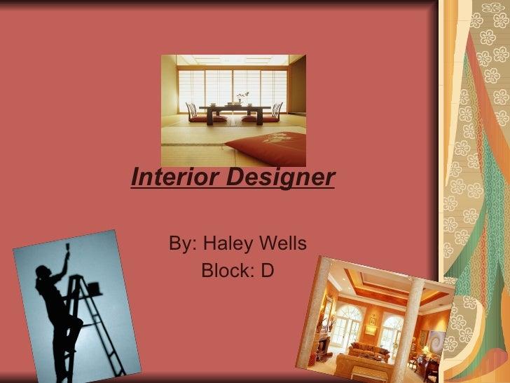Interior Design Ppt