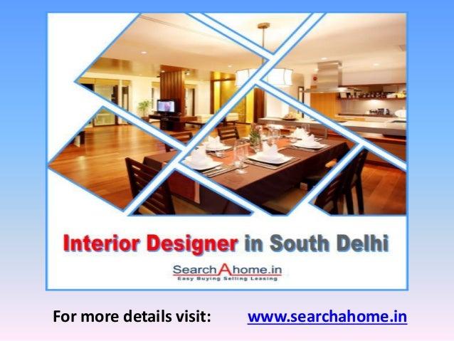Interior designers in south delhi for Interior designers in delhi