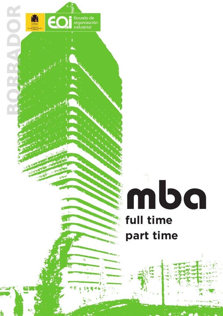MBA Borrador