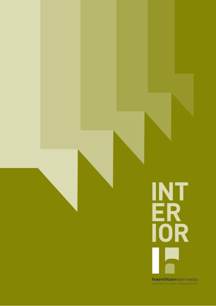 Interior Design - Greg Hamilton