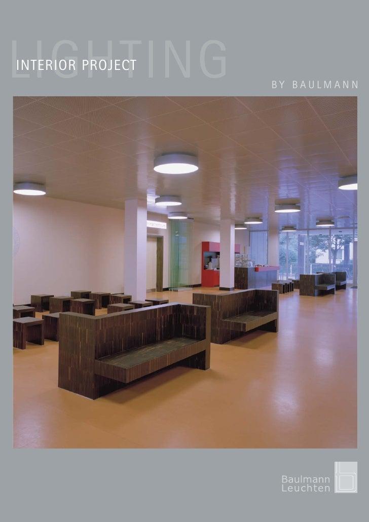Interior lighting - Baulmann