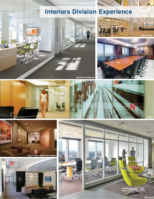 Interiors Division Experience                                                            athenahealth                     ...