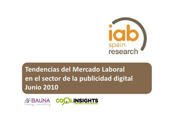 Estudio Mercado laboral mktg digital junio2010 españa