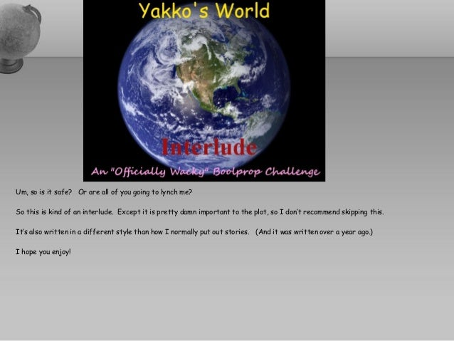 Yakko's World OWBC - Interlude
