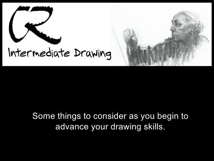 Intermediate Drawing2010