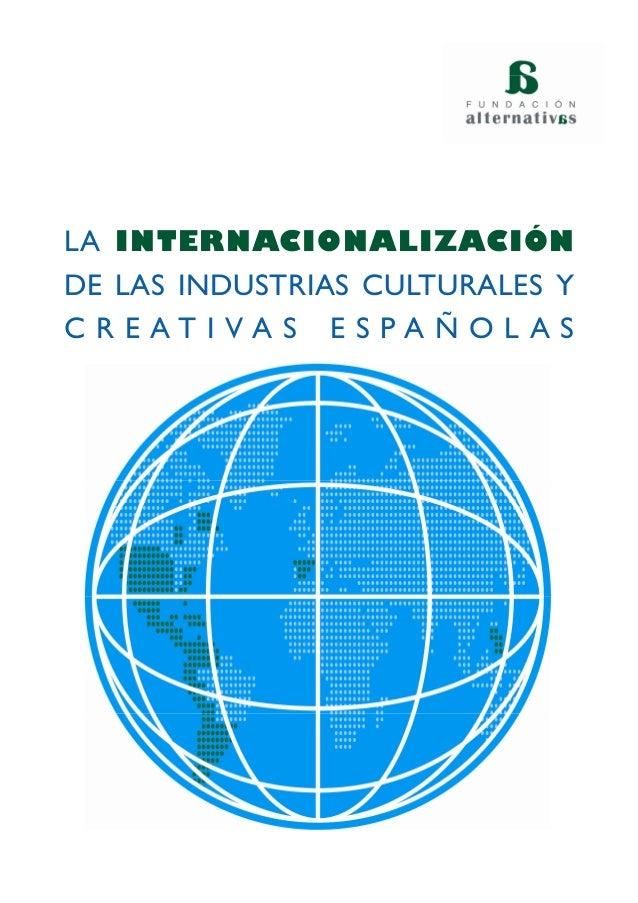 Internacionalizacion industrias culturales