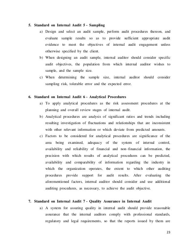 Research proposal on auditing