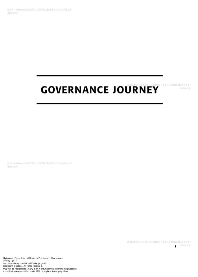 Internal controls policies_and_procedures_governance_journey
