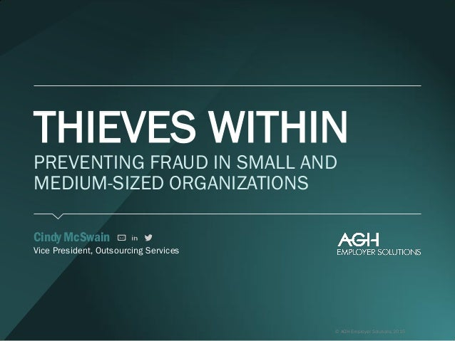 preventing fraud solutions and methods 2015-7-29 proactive fraud monitoring for banks in  • how well do existing fraud identification and monitoring methods control current and  been in preventing frauds.