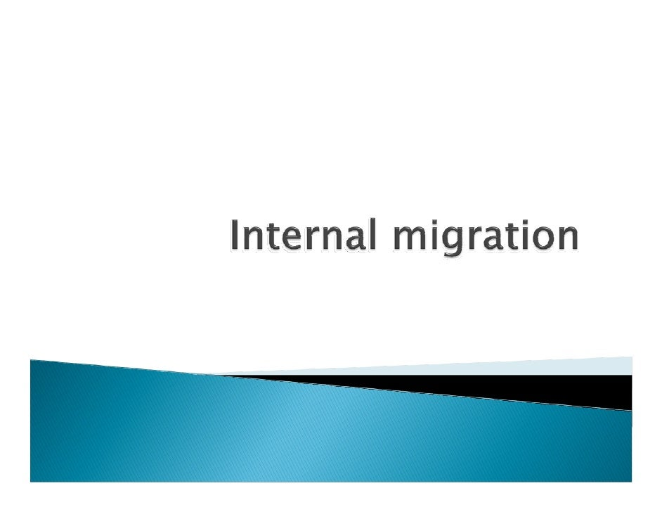 Internal  Migration  Online