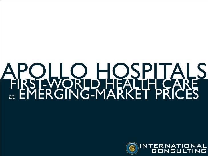 [International Business]Apollo Hospitals