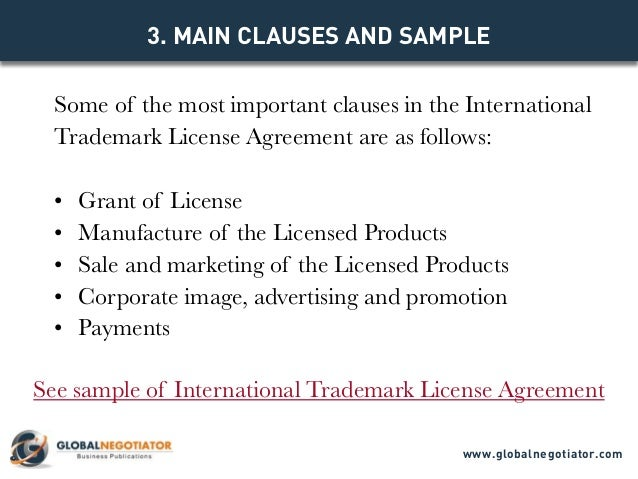 Licensing Agreement Sample Trial Software License