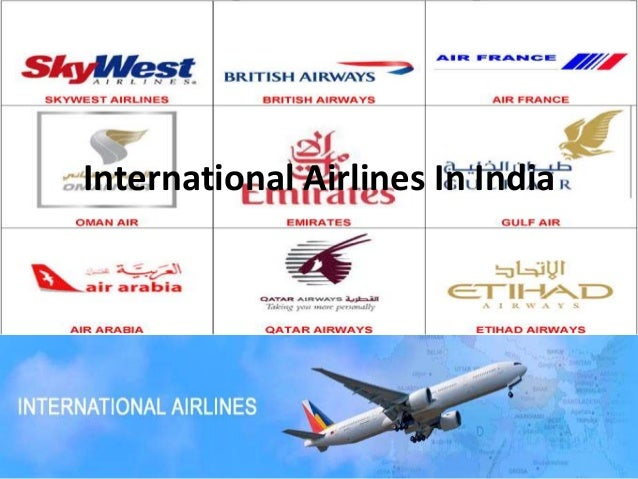 International Airlines In India