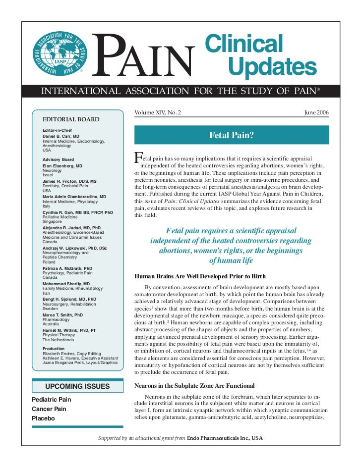 ®                            PAIN   INTERNATIONAL ASSOCIATION FOR THE STUDY OF PAIN®                                      ...