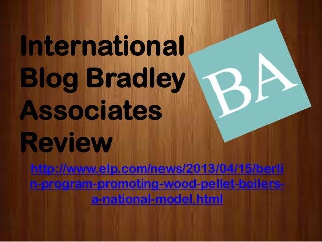 International blog bradley associates review   berlin program promoting wood pellet boilers a national model